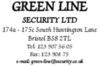 Печат Colop Classic Line 2300 Green Line 45x30мм професионален