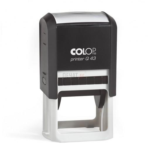 Печат Colop Printer Q43, квадратен (43х43мм.) - 5