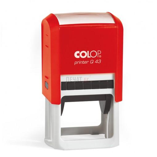Печат Colop Printer Q43, квадратен (43х43мм.) - 4