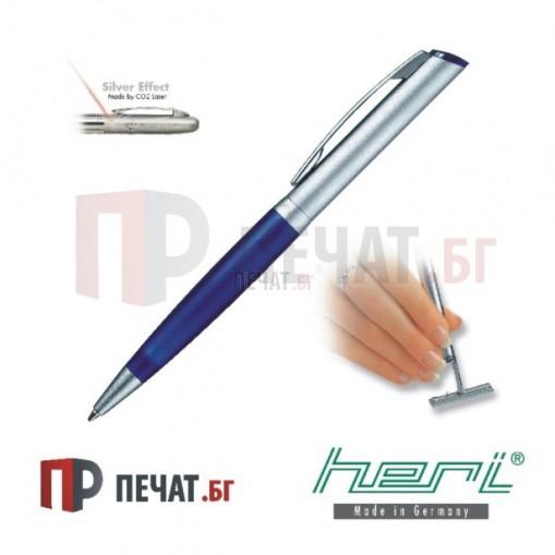 Mетална химикалка - печат с клише (33 х 8,7мм.)