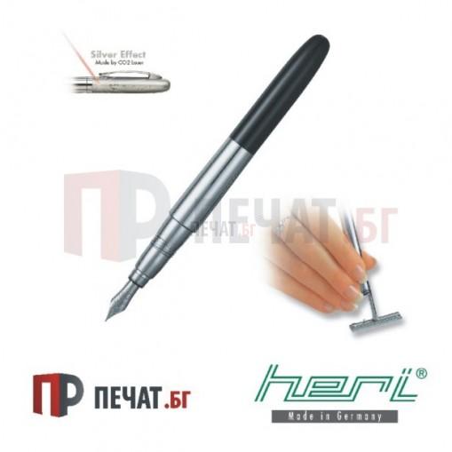 Луксозна метална писалка - печат с клише (33 х 8,7мм.)