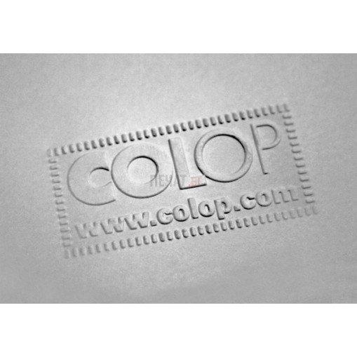 Сух печат Colop Dry Stamp (50 x 25мм.), правоъгълен - 3