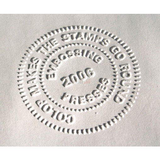 Луксозен сух печат IDEAL - ЧЕРЕН - 41мм. - 2