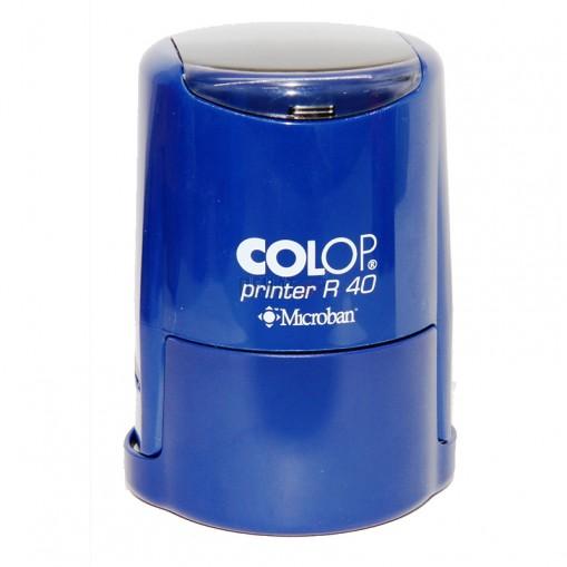 Печат Colop R30 Microban с антибактериална защита (Ф30мм.), подходящ за фирмен печат