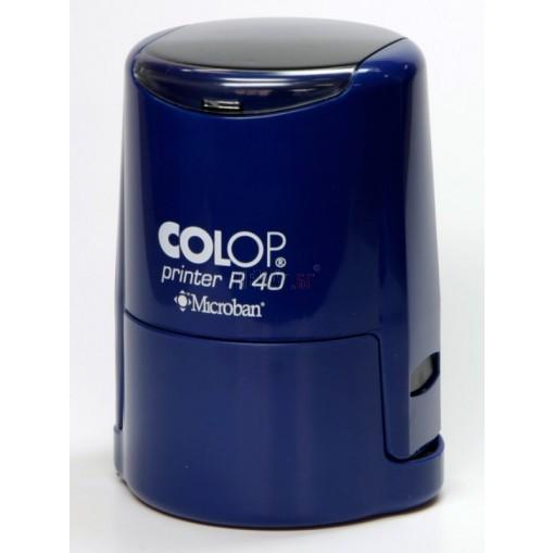 Печат Colop R30 Microban с антибактериална защита (Ф30мм.), подходящ за фирмен печат - 3