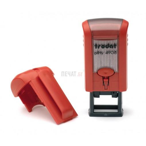 Печат Trodat 4908 (15х7мм.) - 5