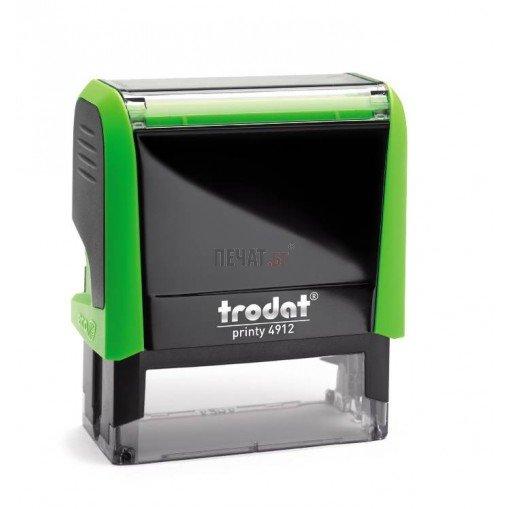 Печат Trodat 4912 (47X18мм.) - 12