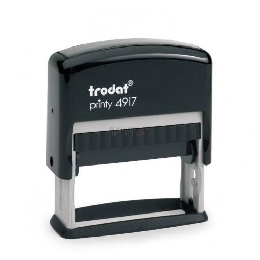 Печат Trodat 4917 (50x10мм.)