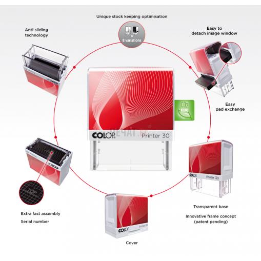 Печат Colop Printer 50 Green Line - 2