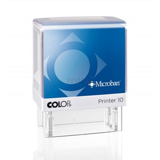 Печат Colop Printer 10 Microban с антибактериална защита (10x27мм.)