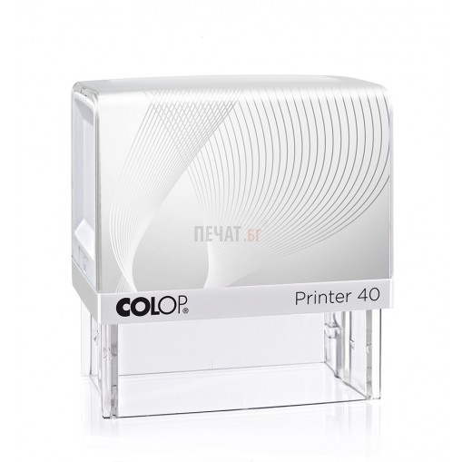 Печат Colop Printer 40 (23x59мм.)  - 2