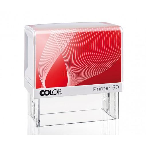 Печат Colop Printer 50 (30x69мм.)  - 10