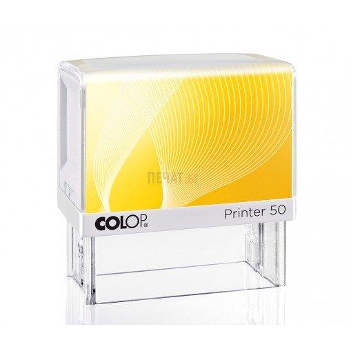 Печат Colop Printer 50 (30x69мм.)  - 5