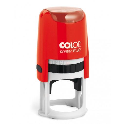 Печат Colop R30 с капаче (Ф30мм.) подходящ за фирмен печат - 6