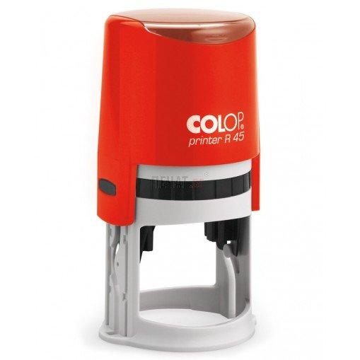 Печат Colop R45 с капаче (Ф45мм.) - 4