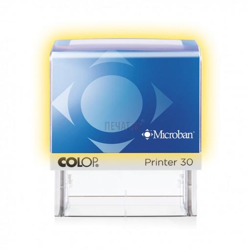 Печат Colop Printer 40 Microban с антибактериална защита (23x59мм.)  - 4