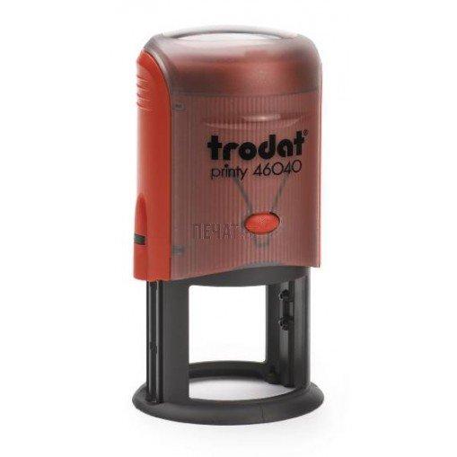 Печат Trodat 46040 (Ф40мм.) подходящ за фирмен печат