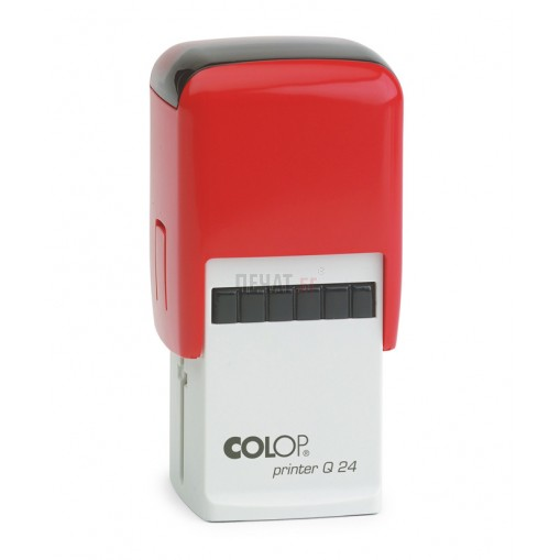 Печат Colop Printer Q24, квадратен (24х24мм.) - 3