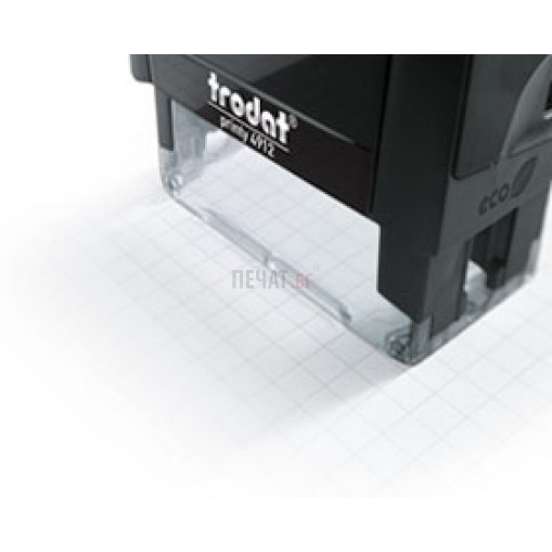 Печат Trodat 4912 (47X18мм.) - 5