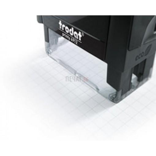 Печат Trodat 4911 (38x14мм.) - 3