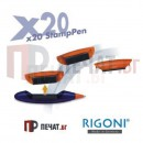 Rigoni X20 Химикалка - печат с клише (38 х 14мм.)