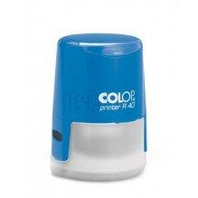 Печат Colop R40 с капаче (Ф40мм.) подходящ за фирмен печат