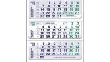 Работен календар МРК313