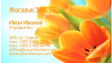 Визитни картички №1107