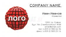 Визитни картички №1125